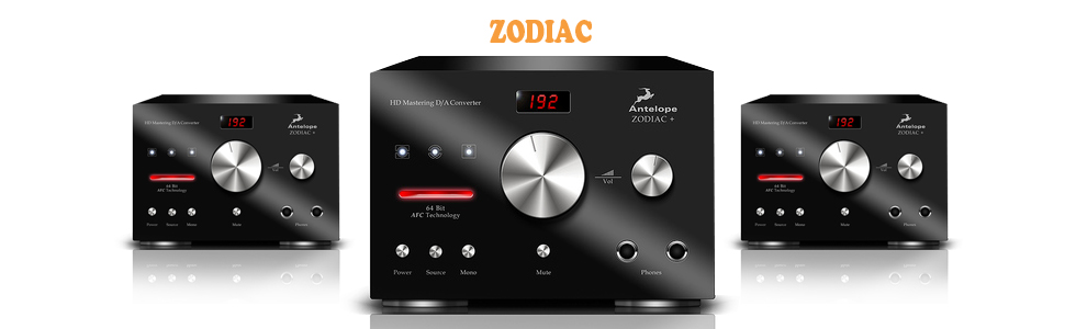 audiowarehouse.ie - Zodiac + Mastering DAC